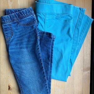 [ justice & cherokee] skinny jeans